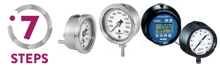 7-Steps-To-Pressure-Gauges