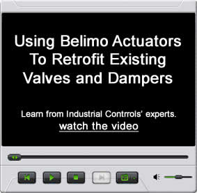 Using Belimo Actuators To Retrofit Existing Valves and Dampers