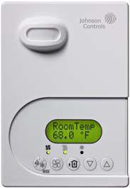 johnson controls tec26x6 series bacnet® ms tp networked thermostat the
