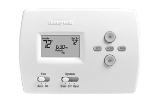 Honeywell Pro 4000 5 2 Day Programmable Thermostat