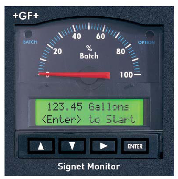 Gf Signet 5600 Series Batch Controller Industrial Controls