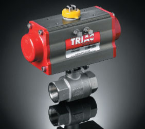 Triac Series 22 Electric Automated Ball Valve Package