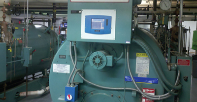 boiler with linkageless control