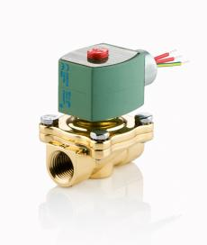 asco's most economical, high flow valve available  solenoid pilot operated  valves available in normally closed and normally open constructions